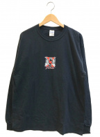 バンドTシャツ(バンドTシャツ)の古着「[古着]90's X JAPAN バンドロンT」|ブラック