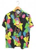 Duke Kahanamoku(デュークカハナモク)の古着「アロハシャツ / ハワイアンシャツ」 ブラック