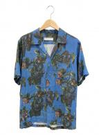 ()の古着「アロハシャツ / ハワイアンシャツ」 ブルー