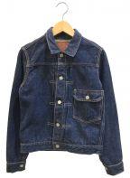 LENO&CO()の古着「1stタイプデニムジャケット」|インディゴ