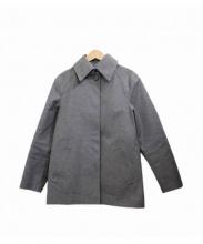 HANCOCK(ハンコック)の古着「ゴム引きコート」 グレー