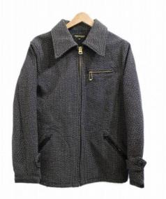UNION GARMENT(ユニオンガーメント)の古着「ビーチクロスジャケット」 ブラック