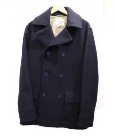 Brooks Brothers(ブルックスブラザーズ)の古着「メルトンコート」 ネイビー
