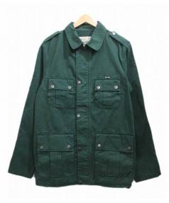 MAISON KITSUNE(メゾンキツネ)の古着「M65ジャケット」|グリーン