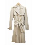 FRAY ID(フレイアイディー)の古着「フレアトレンチコート」 ベージュ