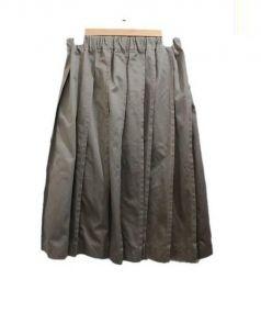 tricot COMME des GARCONS(トリココムデギャルソン)の古着「フレアスカート」|オリーブ