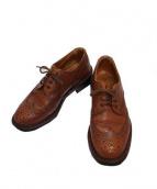 Trickers(トリッカーズ)の古着「ウィングチップシューズ」|ブラウン