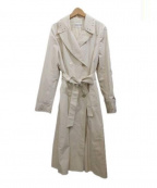 HANAE MORI(ハナエモリ)の古着「トレンチコート」 ベージュ