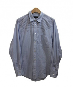 COMME des GARCONS HommePlus(コムデギャルソンオムプリュス)の古着「長袖シャツ」|スカイブルー