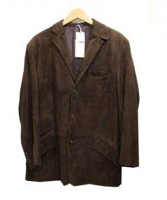 POLO RALPH LAUREN(ポロ バイ ラルフローレン)の古着「シープスキンジャケット」 ブラウン
