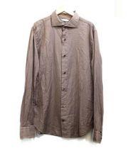 viencenzo di ruggiero(ヴィンツェンツォ・ディ・ルジエッロ)の古着「コットンシャツ」 ブラウン