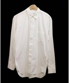 COMME des GARCONS SHIRT(コムデギャルソンシャツ)の古着「コットンシャツ」|ホワイト