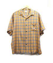 BEAUTY&YOUTH(ビューティアンドユース)の古着「フランネル開襟シャツ」|オレンジ