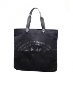 deus ex machina(デウス エクス マキナ)の古着「キャンバストートバッグ」|ブラック