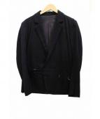FRANK LEDER(フランクリーダー)の古着「テーラードジャケット」 ブラック