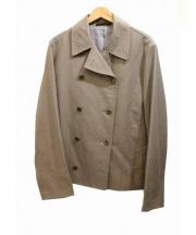 Yohji Yamamoto(ヨウジヤマモト)の古着「ダブルジャケット」 ベージュ