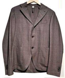 AD56(エーディーチンクワンタセイ)の古着「テーラードジャケット」 ブラウン