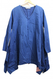 homspun(ホームスパン)の古着「ブラウスワンピース」