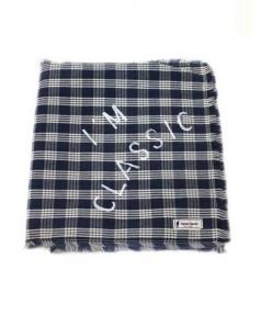 PORTER CLASSIC(ポータークラシック)の古着「パラカストール」|ブルー×ホワイト
