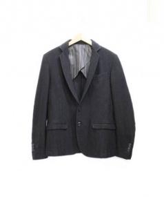 UNITY(ユニティ)の古着「テーラードジャケット」 ブラック