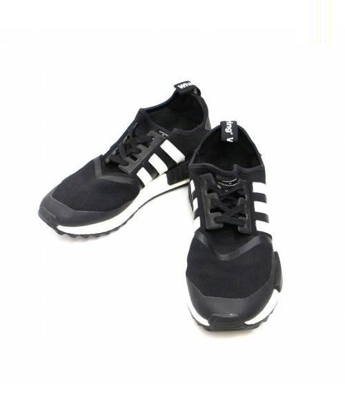 low priced 88314 507f9 [中古]White Mountaineering(ホワイトマウンテニアリング)のメンズ シューズ NMD Trail Black