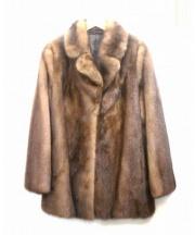 ミンクジャケット(ミンクジャケット)の古着「ミンクジャケット」|ブラウン