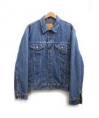 LEVIS(リーバイス)の古着「ブランケットライナーデニムジャケット」|インディゴ