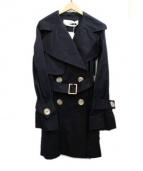 SEE BY CHLOE(シーバイクロエ)の古着「トレンチコート」|ブラック