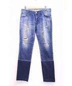 FTMJNS(ファクトタムジーンズ)の古着「プレミアムカスタムリメイクデニム」|インディゴ