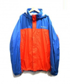 Columbia(コロンビア)の古着「グラスバレーレインスーツ」|オレンジ×ブルー