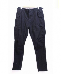 nonnative(ノンネイティブ)の古着「TROOPER TROUSERS RELAX FIT COT」|ブラック