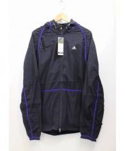 adidas by kolor(アディダスバイカラー)の古着「ウーブンジャケット」|パープル×ブラック