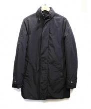 ARMANI EXCHANGE(アルマーニエクスチェンジ)の古着「中綿コート」|ブラック