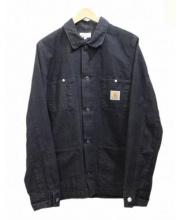 A.P.C.×Carhartt(アーペーセー カーハート)の古着「コットンカバーオール」|ブラック