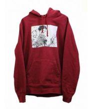Supreme×AKIRA(シュプリーム×アキラ)の古着「Arm Hooded Sweatshir」|レッド