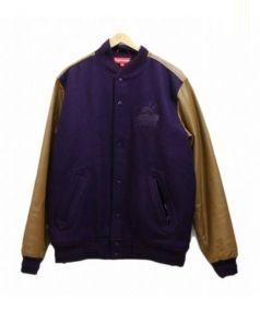 SUPREME(シュプリーム)の古着「Varsity Jacket」 パープル