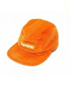 Supreme(シュプリーム)の古着「WaffleCorduroyCampCap」 オレンジ