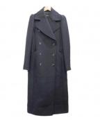 DRWCYS(ドロシーズ)の古着「ロングチェスターコート」|ネイビー