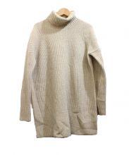 MAISON DE REEFUR(メゾン ド リーファー)の古着「ローゲージタートルネックニット」|ベージュ
