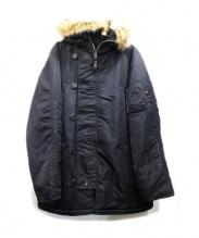 ALPHA(アルファ)の古着「N-3Bタイプコート」|ブラック
