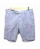 GTA TWISTED(ジーティーアーツイステッド)の古着「ハーフパンツ」|ブルー