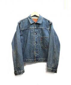 LEVIS(リーバイス)の古着「1st type デニムジャケット」 インディゴ