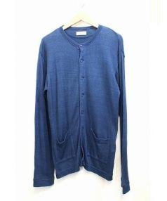 45rpm(45アールピーエム)の古着「藍染コットンカーディガン」 インディゴ