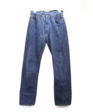 BRU NA BOINNE(ブルーナボイン)の古着「セルビッチデニムパンツ」|インディゴ