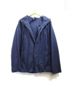 ASPESI(アスペジ)の古着「オーバーダイフーデッドジャケット」|ネイビー