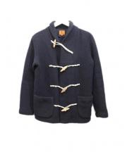 BARENA(バレナ)の古着「ニットジャケット」|ネイビー
