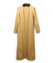 PLAIN PEOPLE(プレインピープル)の古着「ブラウスワンピース」|ベージュ