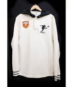 Rugby Ralph Lauren(ラグビーラルフローレン)の古着「ラガーシャツ」|アイボリー