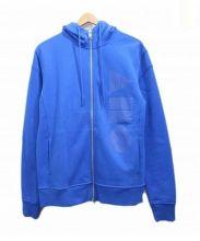 ARMANI EXCHANGE(アルマーニエクスチェンジ)の古着「ジップパーカー」|ブルー
