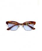 obj water inspired by N4(オブジェ ウォーター インスパイアー バイ エヌ フォー)の古着「眼鏡」|ブラウン